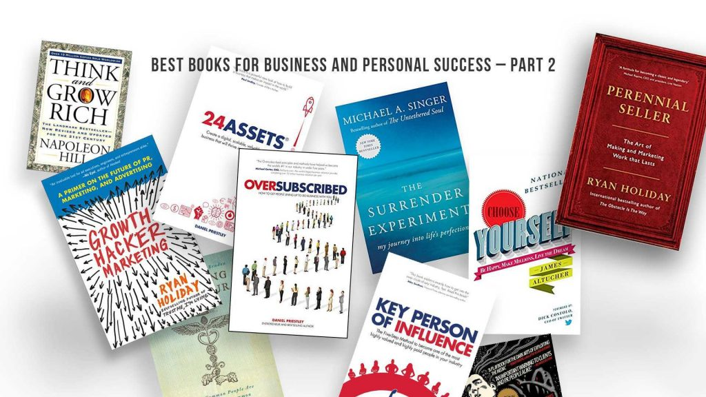Best Books for Business and Personal Success – Part 2